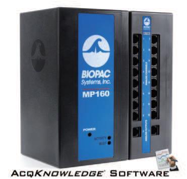 Biopac 16導生理記錄及分析系統